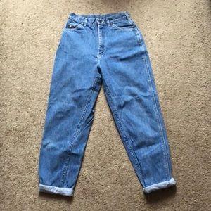 Vintage High Waisted Lee Mom Jeans